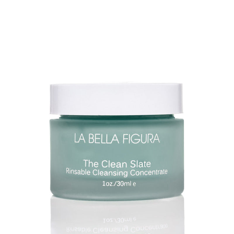 The Clean Slate with Blue Tansy - La Bella Figura Beauty