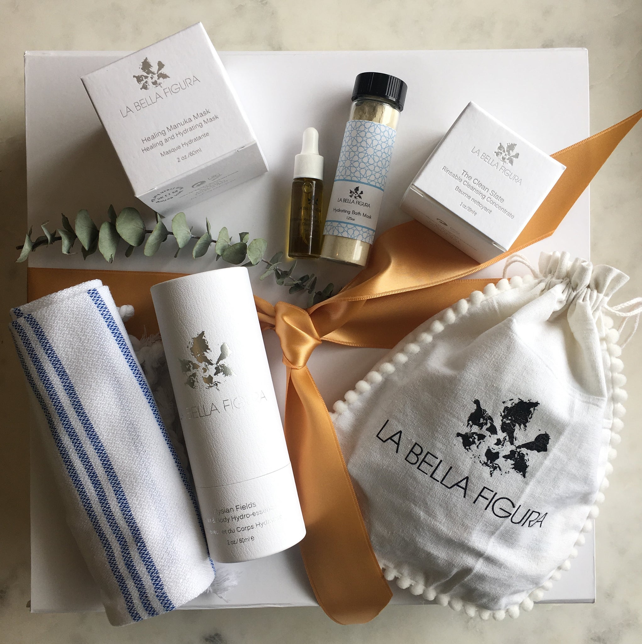 Evening Ritual and Bath Set - La Bella Figura Beauty