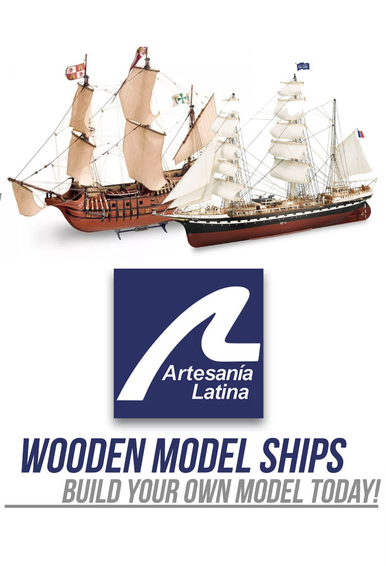 Artesania Latina - Wooden model ships