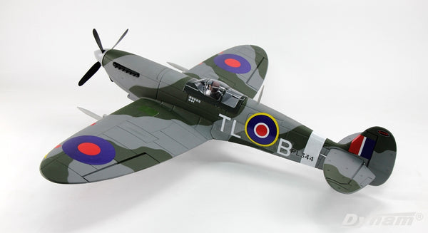 DYNAM 8942 SPITFIRE V3 1200MM WINGSPAN PLUG AND PLAY PNP