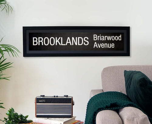 Brooklands Briar Avenue Framed Bus Blind