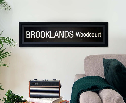 Brooklands Woodcourt Framed Bus Blind