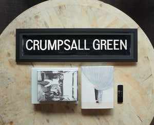 Crumpsall Green Framed Bus Blind
