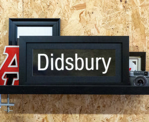 Didsbury Mini Framed Bus Blind