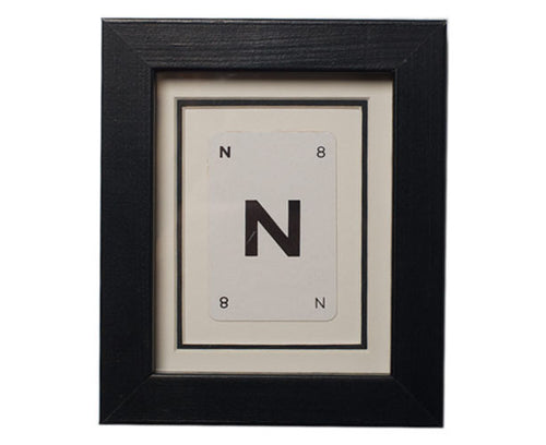 Mini N Framed Playing Card