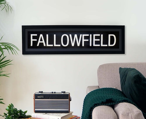 Fallowfield Framed Bus Blind