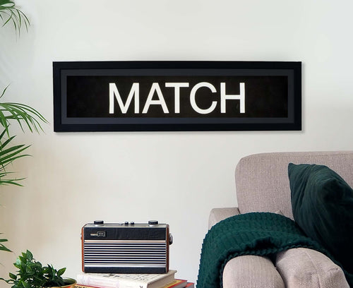 Match Framed Bus Blind
