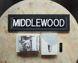 Middlewood Framed Bus Blind
