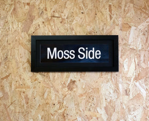 Moss Side Mini Framed Bus Blind