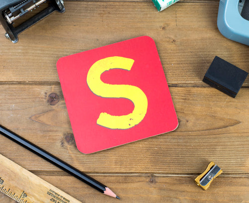 'S' Letter Coaster