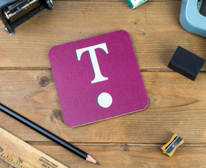 'T' Letter Coaster