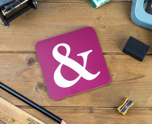 Ampersand Coaster