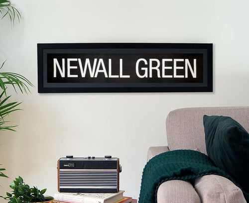 Newall Green Framed Bus Blind