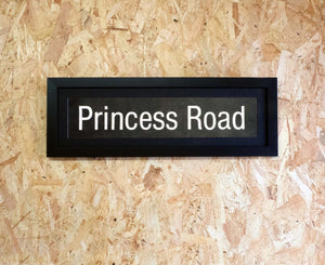 Princess Road Mini Framed Bus Blind