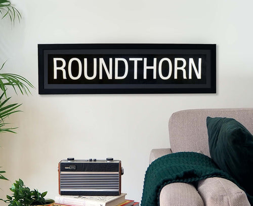 Roundthorn Framed Bus Blind