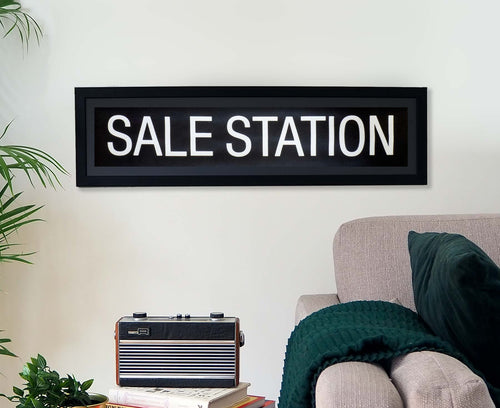 Sale Station Framed Bus Blind