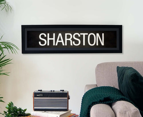 Sharston Framed Bus Blind