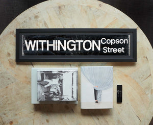 Withington Copson Street Framed Bus Blind