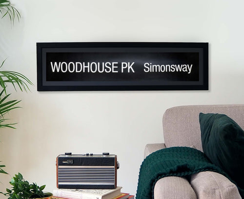 Woodhouse Park Simonsway Framed Bus Blind