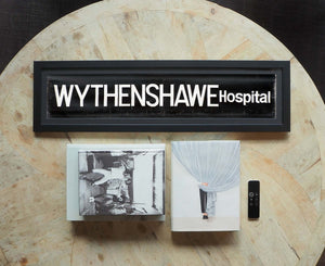 Wythenshawe Hospital Framed Bus Blind