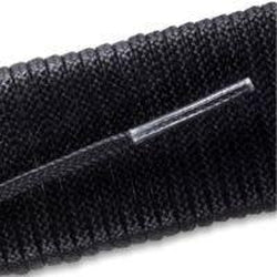 Waxed Very Thin Dress Laces - Black (2 Pair Pack) Shoelaces from Shoelaces Express