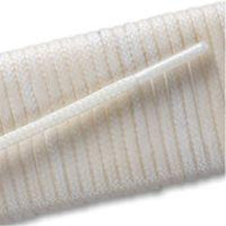 Waxed Very Thin Dress Laces - White (2 Pair Pack) Shoelaces from Shoelaces Express