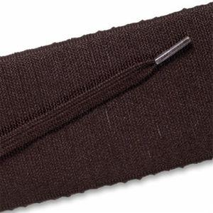 Flat Dress Laces - Brown (2 Pair Pack) Shoelaces from Shoelaces Express