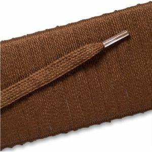 Flat Dress Laces - Light Brown (2 Pair Pack) Shoelaces from Shoelaces Express