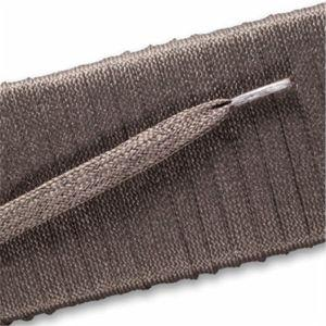 Flat Dress Laces - Taupe Gray (2 Pair Pack) Shoelaces from Shoelaces Express