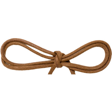 "Spool - Waxed Cotton Thin Round Dress - Light Brown 1/8"" (144 yards) Shoelaces from Shoelaces Express"