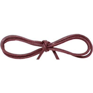"Spool - Waxed Cotton Thin Round Dress - Burgundy 1/8"" (144 yards) Shoelaces from Shoelaces Express"