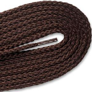 Round Braided Laces - Brown (2 Pair Pack) Shoelaces from Shoelaces Express