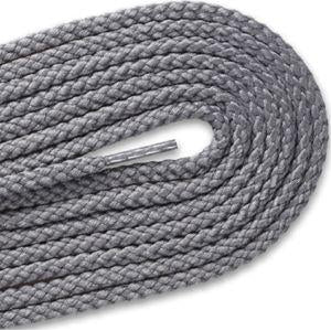 Round Braided Laces - Gray (2 Pair Pack) Shoelaces from Shoelaces Express