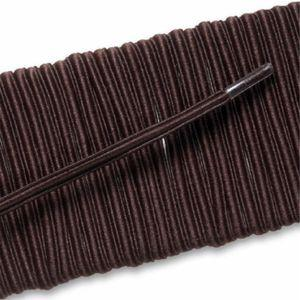 Elastic Dress Laces - Brown (2 Pair Pack) Shoelaces from Shoelaces Express