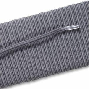 Elastic Dress Laces - Gray (2 Pair Pack) Shoelaces from Shoelaces Express