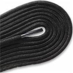 "Thin Round Fashion Dress 1/8"" Laces - Black (2 Pair Pack) Shoelaces from Shoelaces Express"