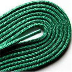 "Fashion Thin Round Dress 1/8"" Laces Custom Length with Tip - Kelly Green (1 Pair Pack) Shoelaces from Shoelaces Express"