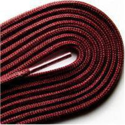 "Thin Round Fashion Dress 1/8"" Laces - Maroon (2 Pair Pack) Shoelaces from Shoelaces Express"