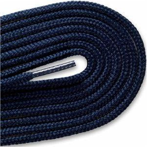 "Thin Round Fashion Dress 1/8"" Laces - Navy Blue (2 Pair Pack) Shoelaces from Shoelaces Express"