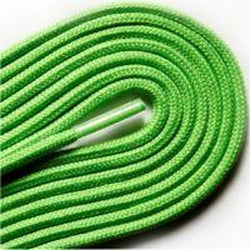 "Thin Round Fashion Dress 1/8"" Laces - Neon Green (2 Pair Pack) Shoelaces from Shoelaces Express"