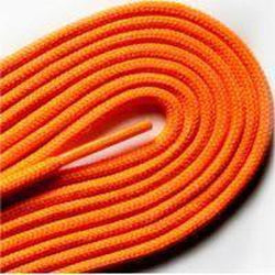 "Fashion Thin Round Dress 1/8"" Laces Custom Length with Tip - Neon Orange (1 Pair Pack) Shoelaces from Shoelaces Express"