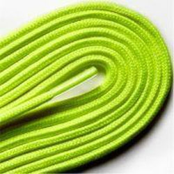 "Fashion Thin Round Dress 1/8"" Laces Custom Length with Tip - Neon Yellow (1 Pair Pack) Shoelaces from Shoelaces Express"
