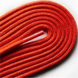 "Thin Round Fashion Dress 1/8"" Laces - Orange (2 Pair Pack) Shoelaces from Shoelaces Express"