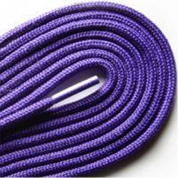 "Fashion Thin Round Dress 1/8"" Laces Custom Length with Tip - Purple (1 Pair Pack) Shoelaces from Shoelaces Express"