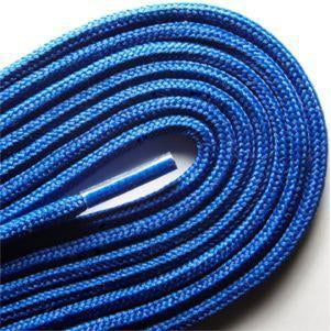 "Fashion Thin Round Dress 1/8"" Laces Custom Length with Tip - Royal Blue (1 Pair Pack) Shoelaces from Shoelaces Express"