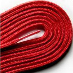 "Fashion Thin Round Dress 1/8"" Laces Custom Length with Tip - Scarlet Red (1 Pair Pack) Shoelaces from Shoelaces Express"