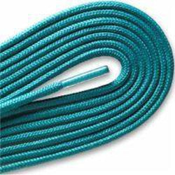 "Thin Round Fashion Dress 1/8"" Laces - Turquoise (2 Pair Pack) Shoelaces from Shoelaces Express"