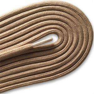 "Fashion Casual/Athletic Round 3/16"" Laces - Beige (2 Pair Pack) Shoelaces from Shoelaces Express"