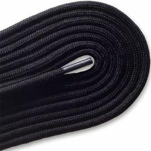 "Spool - Fashion Casual Athletic Round 3/16"" - Black (144 yards) Shoelaces from Shoelaces Express"