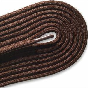 "Fashion Casual/Athletic Round 3/16"" Laces - Brown (2 Pair Pack) Shoelaces from Shoelaces Express"